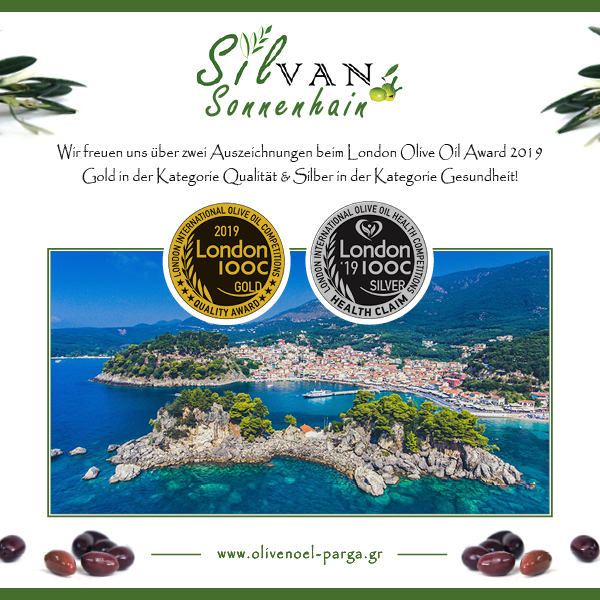 London International Olive Oil Award 2019